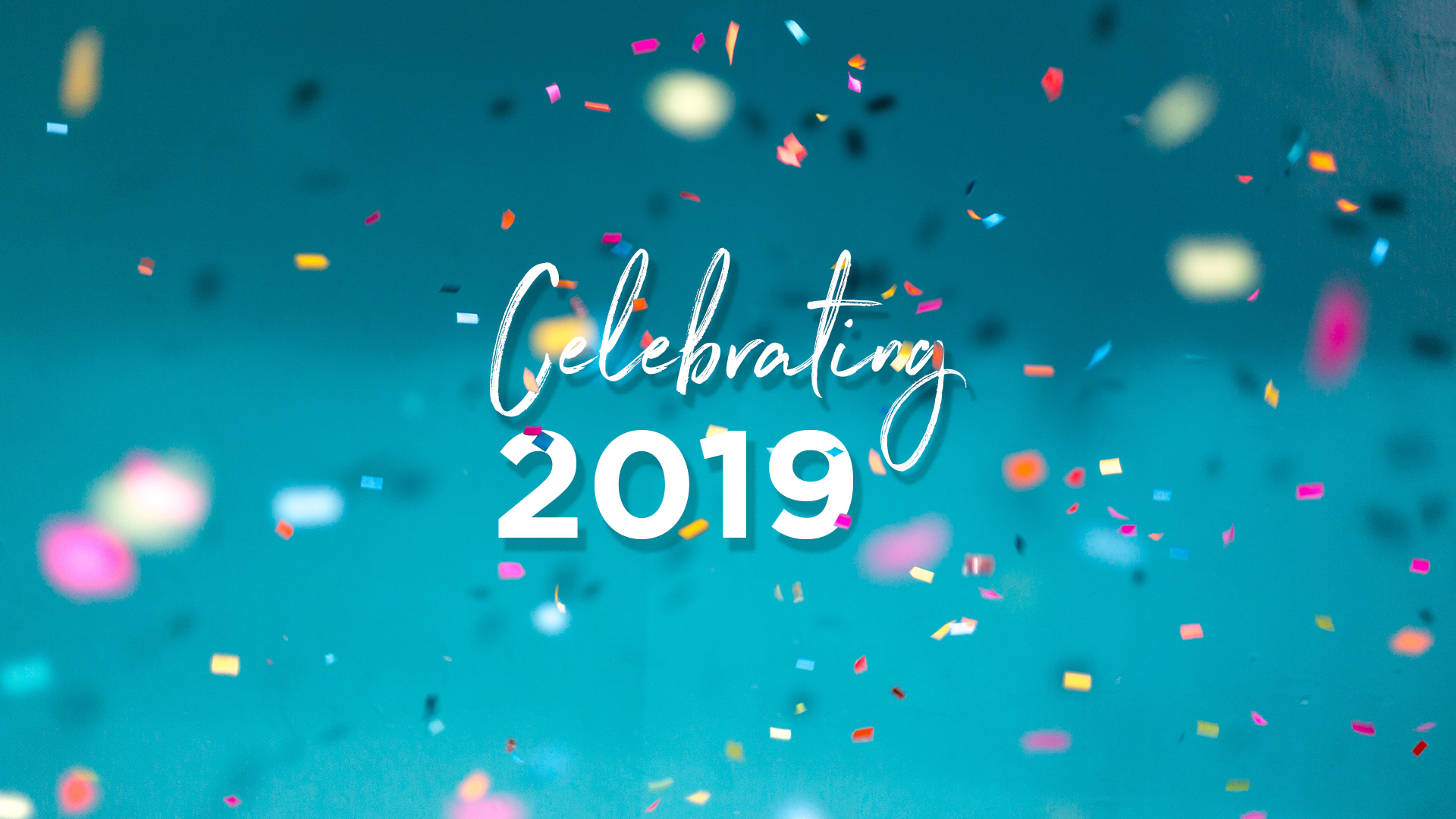 Celebrating 2019